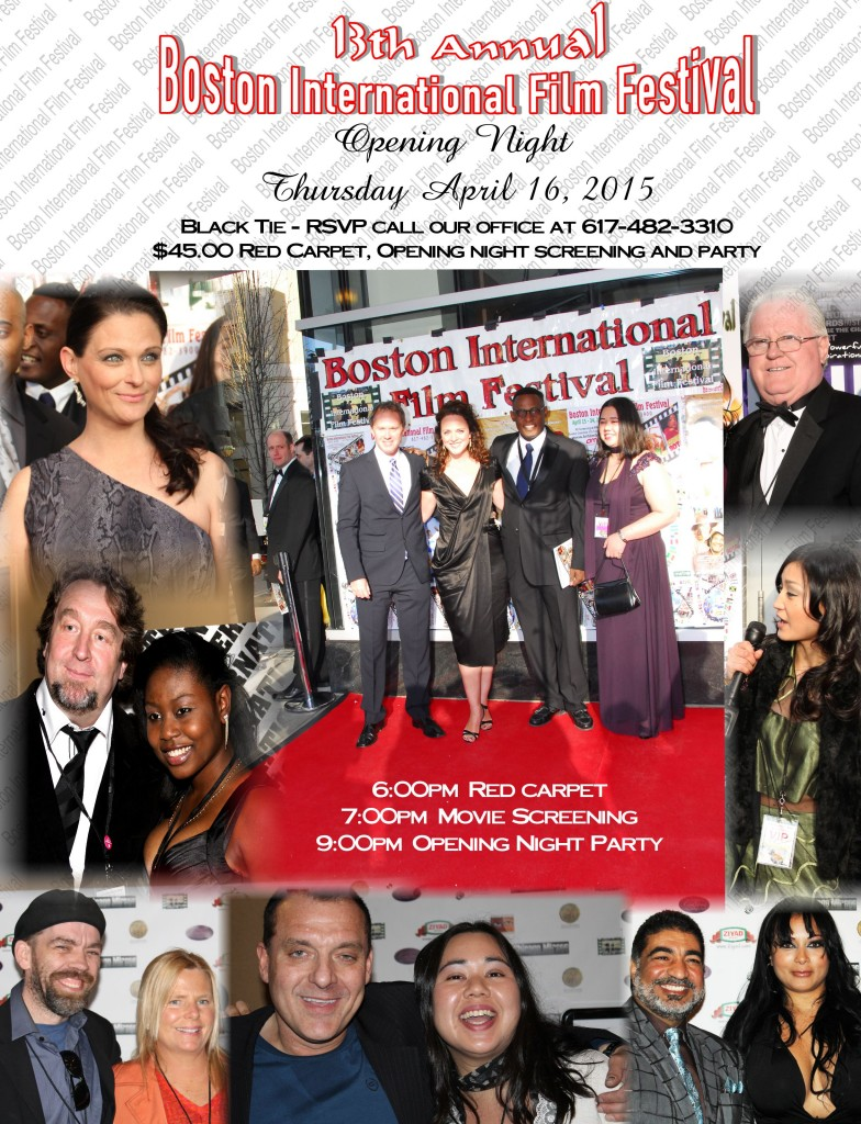BIFF 2015 invite Red Carpet