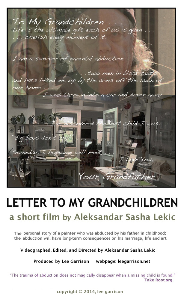 Letter to my Grandchildren