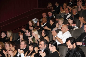 BIFF Crowd applaud after screening